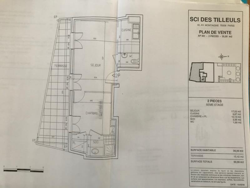 Rental apartment Boulogne billancourt 1195€ CC - Picture 8