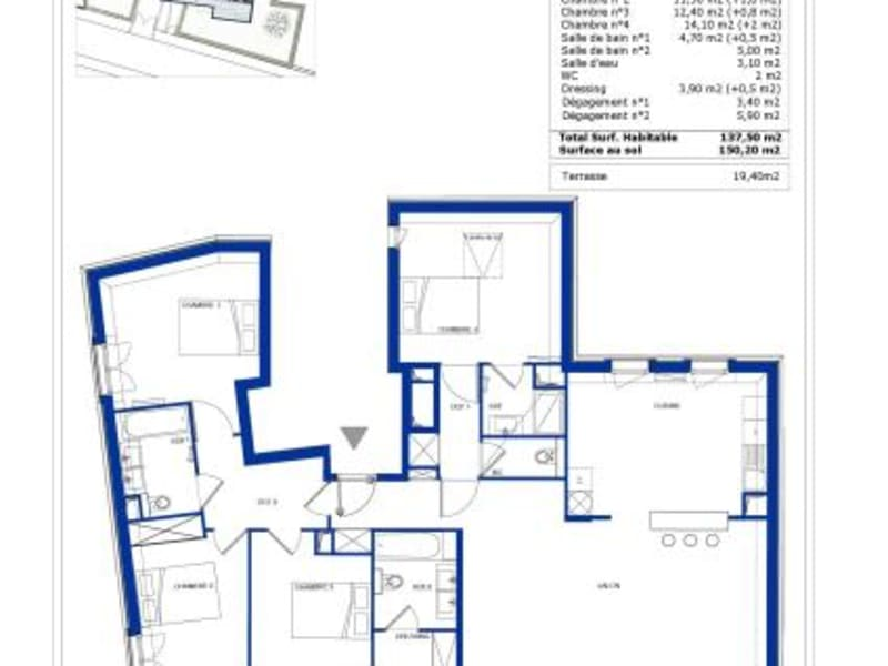 Deluxe sale house / villa Garches 1120000€ - Picture 4