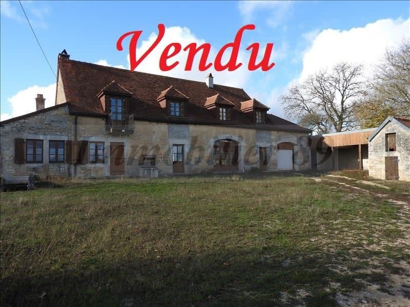 Vente maison / villa Villager sud châtillonnais 150000€ - Photo 1