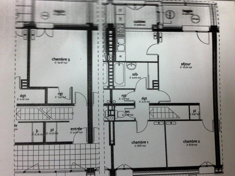 Vente appartement Villeneuve la garenne 220000€ - Photo 1