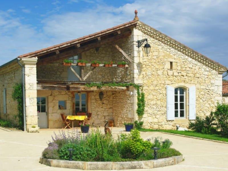 Sale house / villa La romieu 398000€ - Picture 1