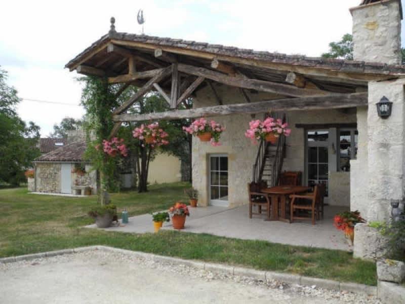 Sale house / villa La romieu 398000€ - Picture 2