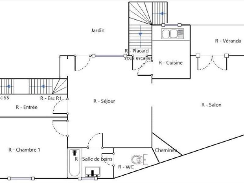 Sale house / villa Les clayes sous bois 430000€ - Picture 9