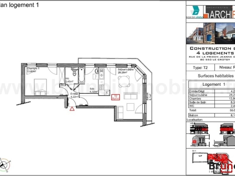 Deluxe sale apartment Le crotoy 249800€ - Picture 4