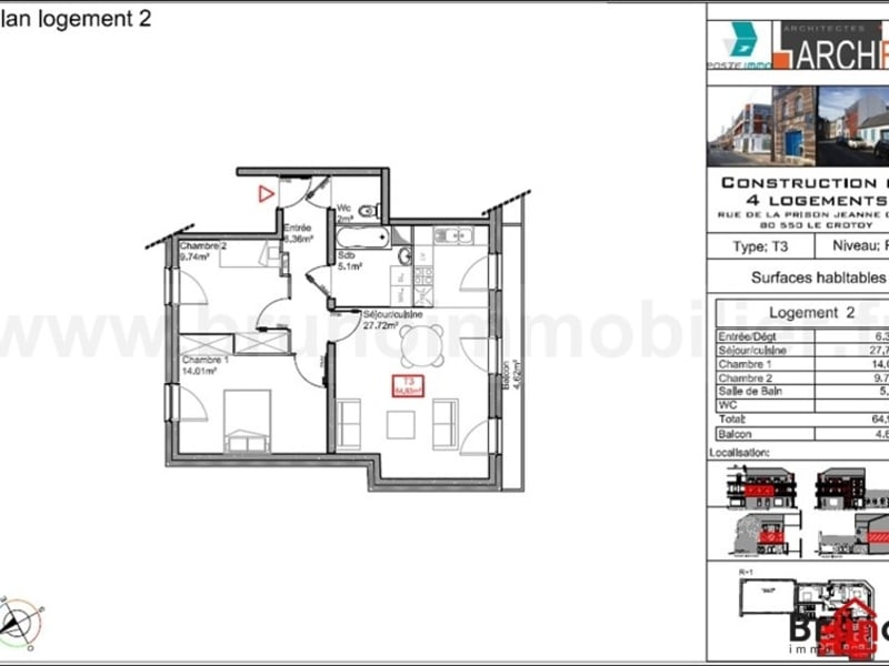 Deluxe sale apartment Le crotoy 294500€ - Picture 6