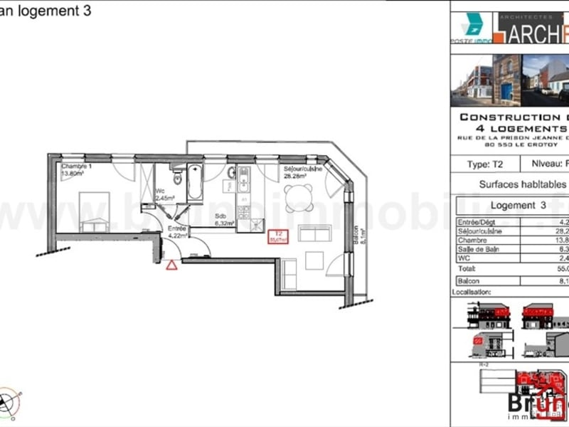 Deluxe sale apartment Le crotoy 249800€ - Picture 6