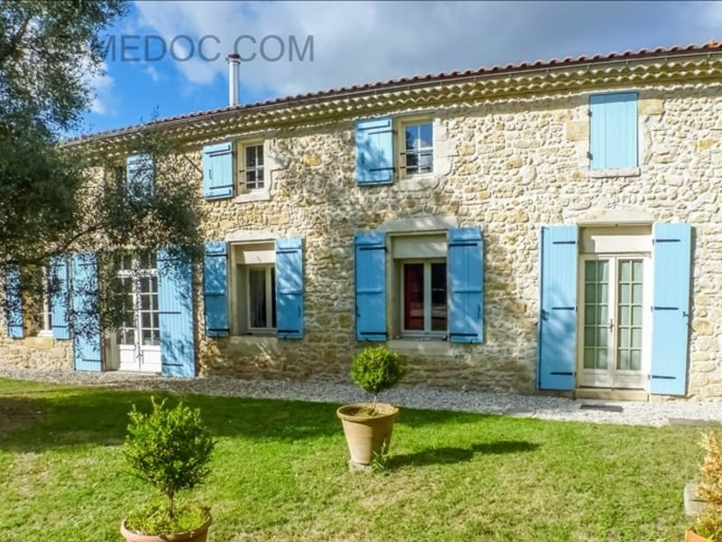 Vente maison / villa Queyrac 414000€ - Photo 1