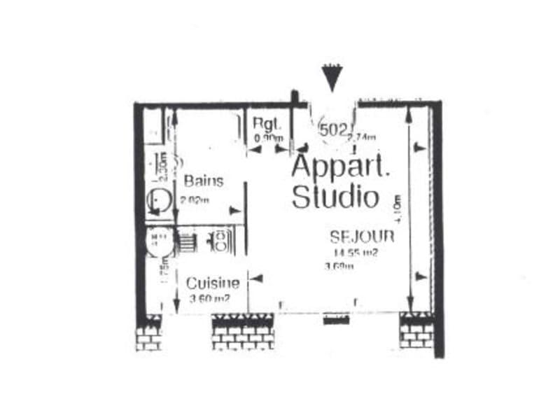 Location appartement Dijon 363€ CC - Photo 5