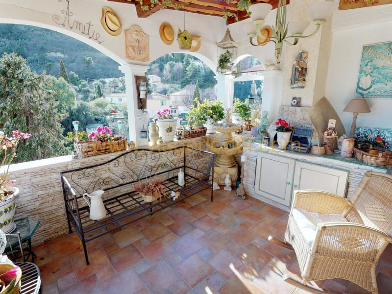 Verkauf auf rentenbasis wohnung Gorbio 385000€ - Fotografie 1