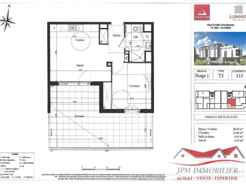 Sale apartment Cluses 163000€ - Picture 4
