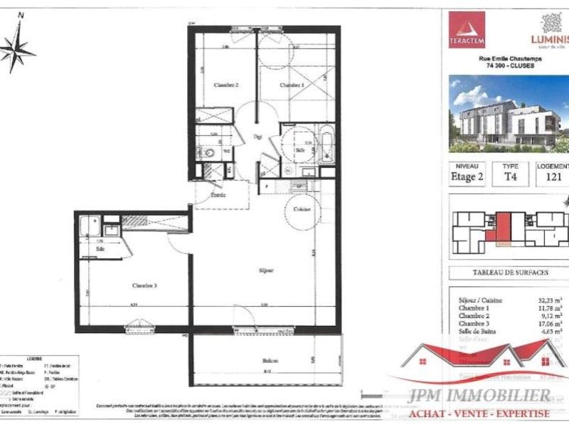 Venta  apartamento Cluses 323000€ - Fotografía 4