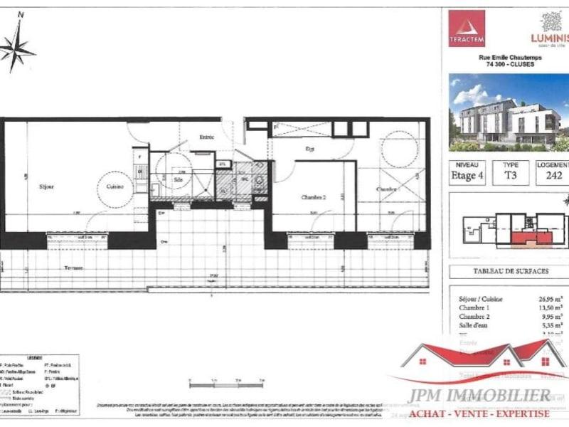 Venta  apartamento Cluses 266000€ - Fotografía 4