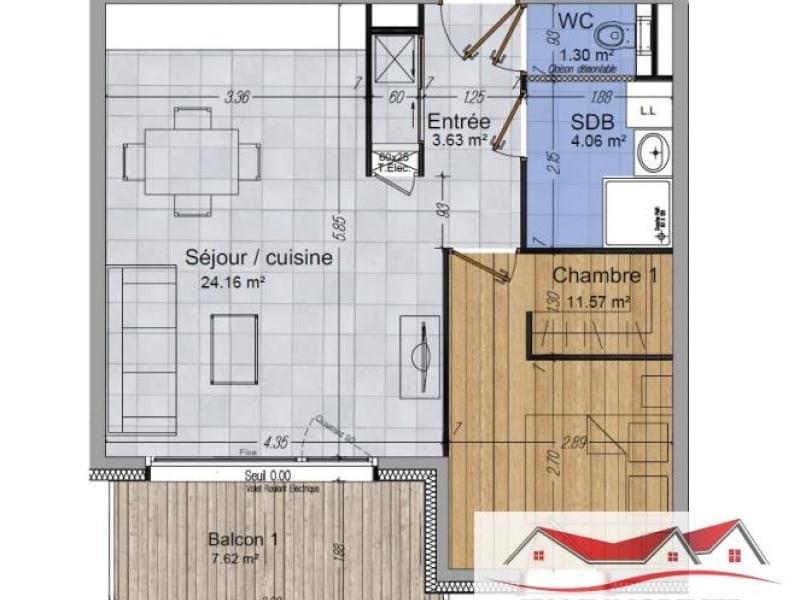 Sale apartment Cluses 159900€ - Picture 2