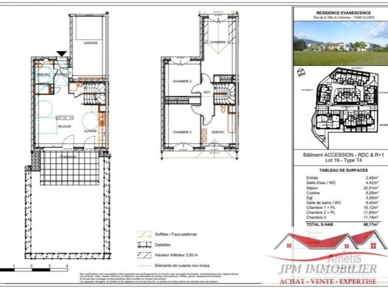 Vente maison / villa Cluses 267000€ - Photo 2