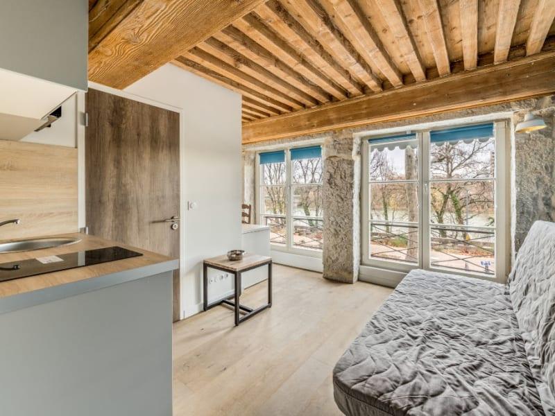 Studio meublé vue Rhône