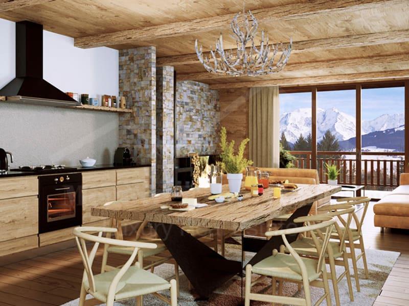 Sale apartment Combloux 651000€ - Picture 1