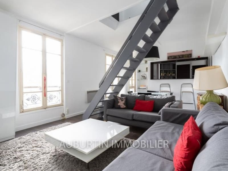 Vente appartement Paris 18ème 395000€ - Photo 2
