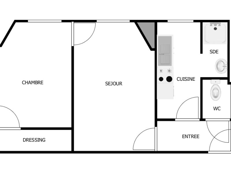 Vente appartement Clichy 230000€ - Photo 3