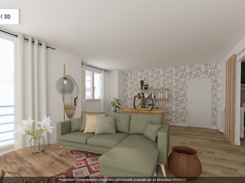 Vente appartement Vanves 448 000€ - Photo 1