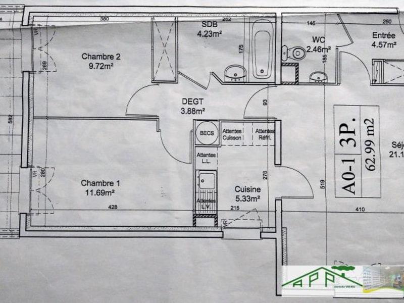 Location appartement Juvisy sur orge 1030€ CC - Photo 7