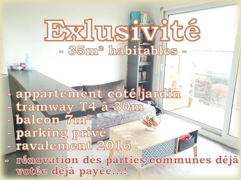 Sale apartment Villemomble 162000€ - Picture 1