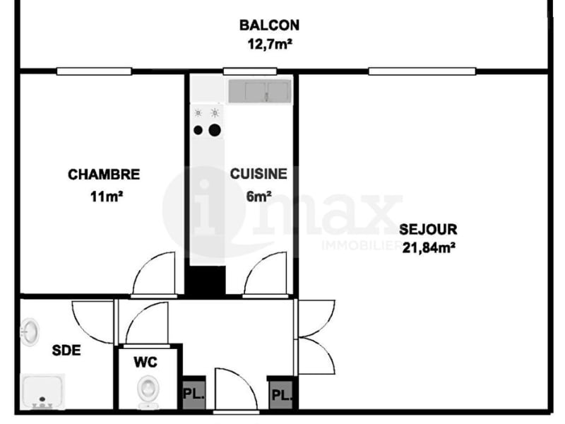 Sale apartment Courbevoie 425 000€ - Picture 5