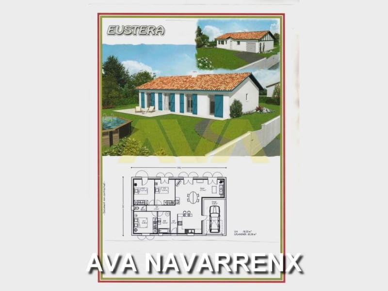 Vente maison / villa Navarrenx 140000€ - Photo 1