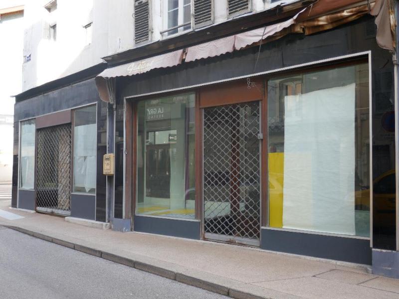 Rental empty room/storage Nantua 491€ HC - Picture 1