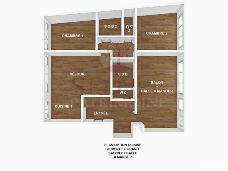 Venta  apartamento Paris 14ème 990000€ - Fotografía 12