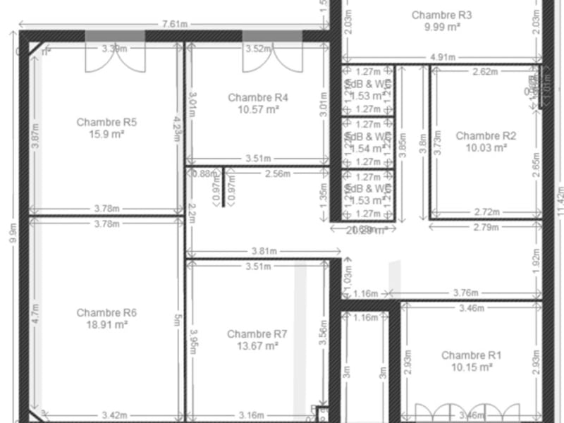 Venta  casa Villejuif 1190000€ - Fotografía 2