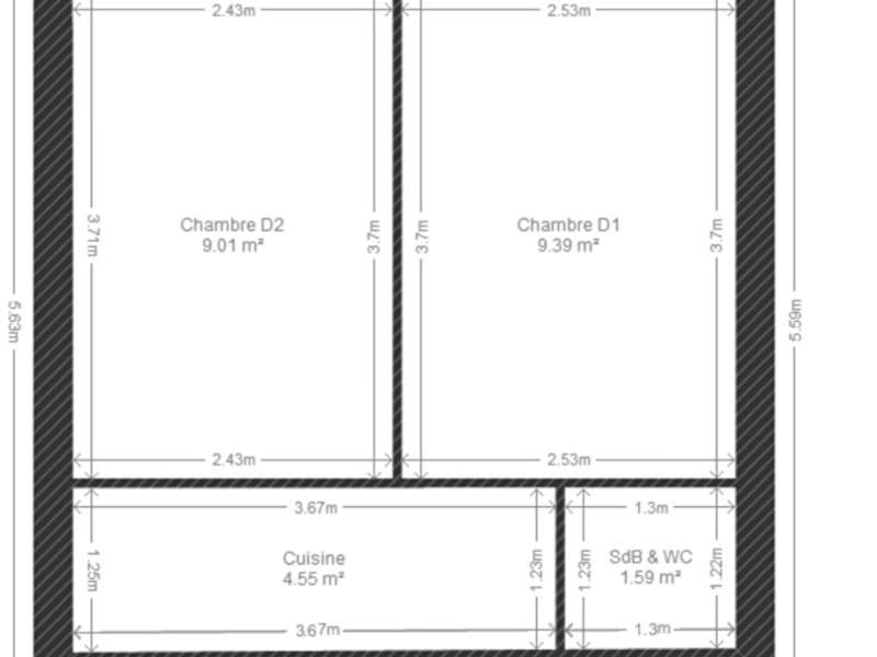 Vendita casa Villejuif 1190000€ - Fotografia 5
