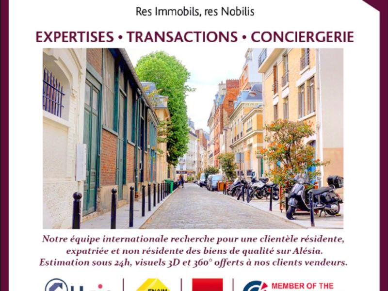 Vendita appartamento Paris 14ème 364000€ - Fotografia 1