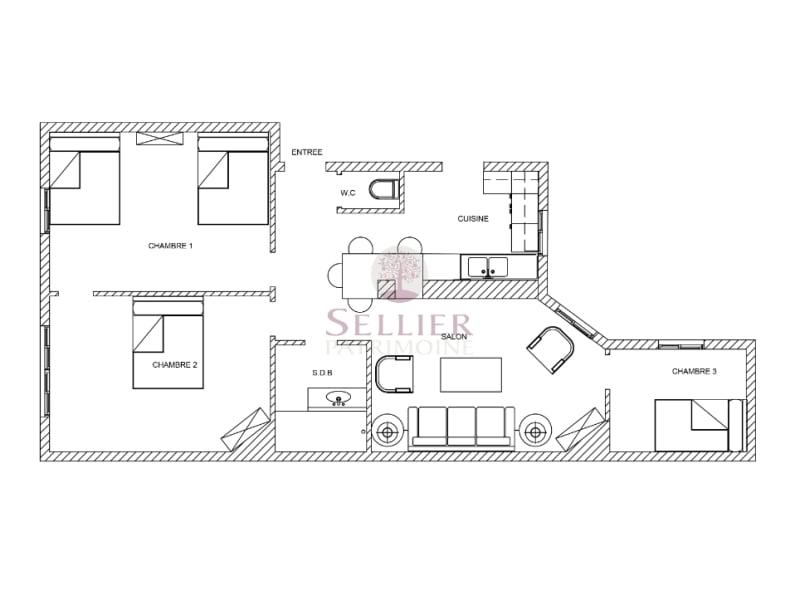 Venta  apartamento Paris 5ème 975000€ - Fotografía 15
