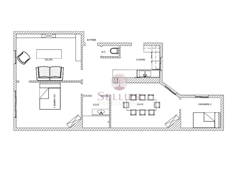 Venta  apartamento Paris 5ème 975000€ - Fotografía 16