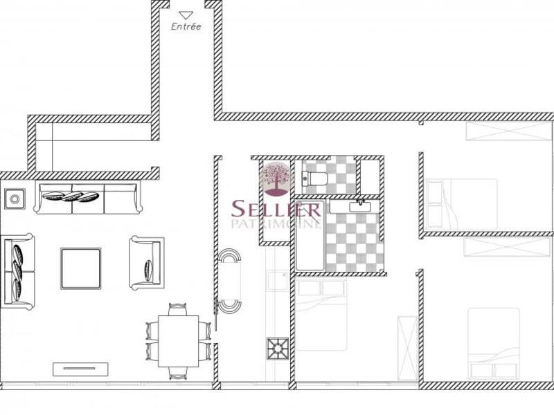 Venta  apartamento Paris 13ème 565000€ - Fotografía 9