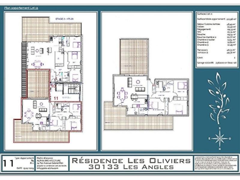 Vente appartement Les angles 435000€ - Photo 12