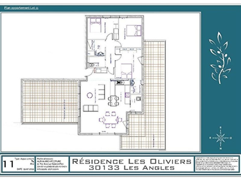 Vente appartement Les angles 435000€ - Photo 13