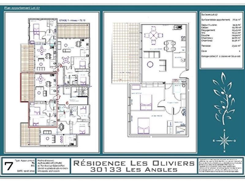 Vente appartement Les angles 325000€ - Photo 7