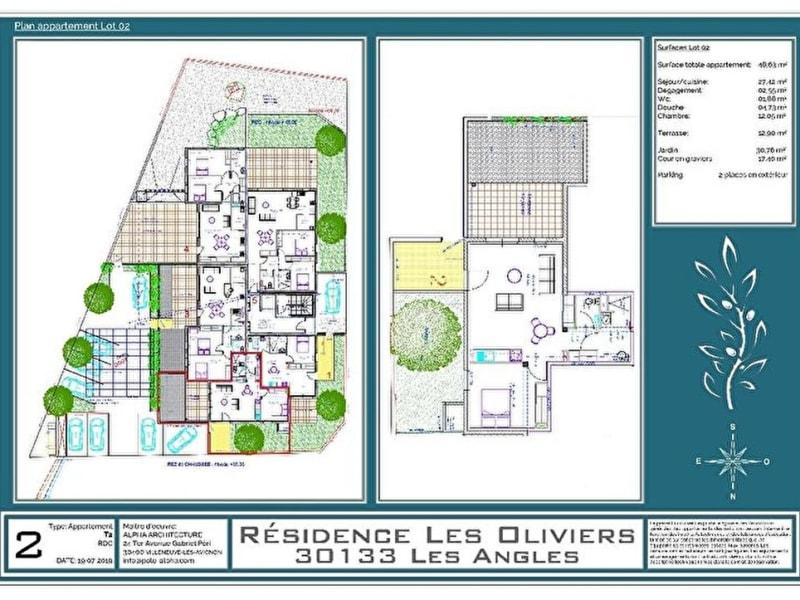 Vente appartement Les angles 184794€ - Photo 5