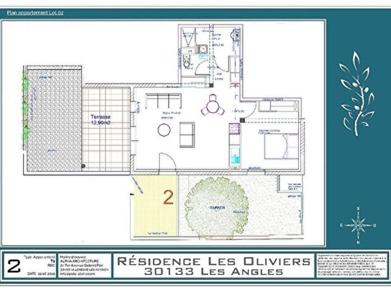 Vente appartement Les angles 184794€ - Photo 6