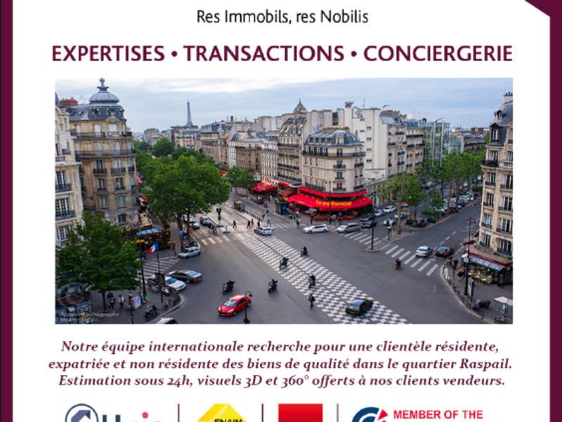 Venta  apartamento Paris 14ème 990000€ - Fotografía 2