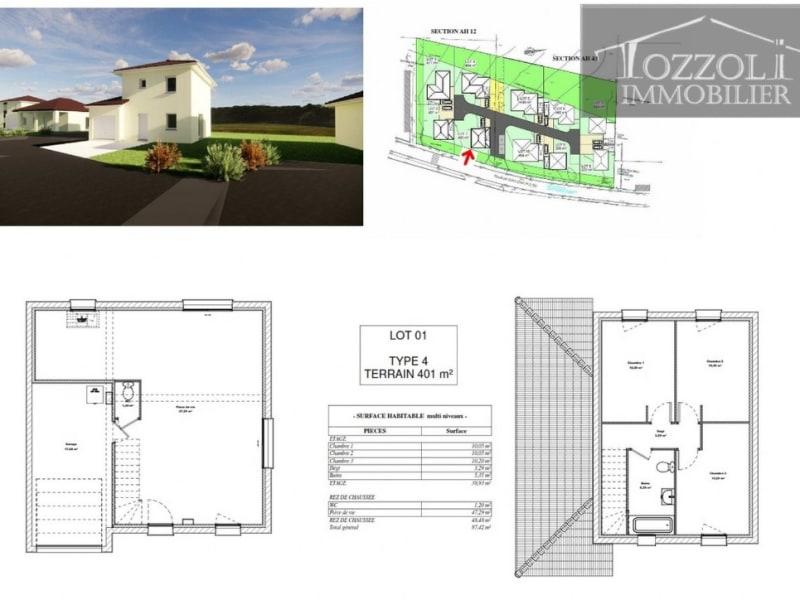 Vente maison / villa Saint jean de soudain 235053€ - Photo 2