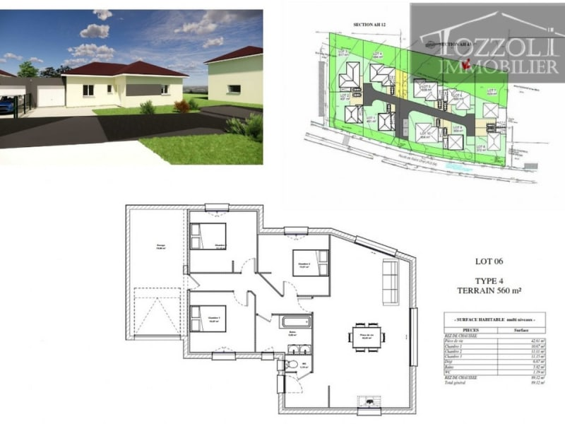 Sale house / villa Rochetoirin 261 165,85€ - Picture 2