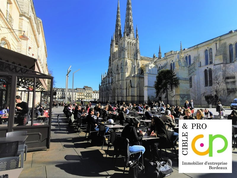 Commercial property sale shop Bordeaux 379400€ - Picture 1