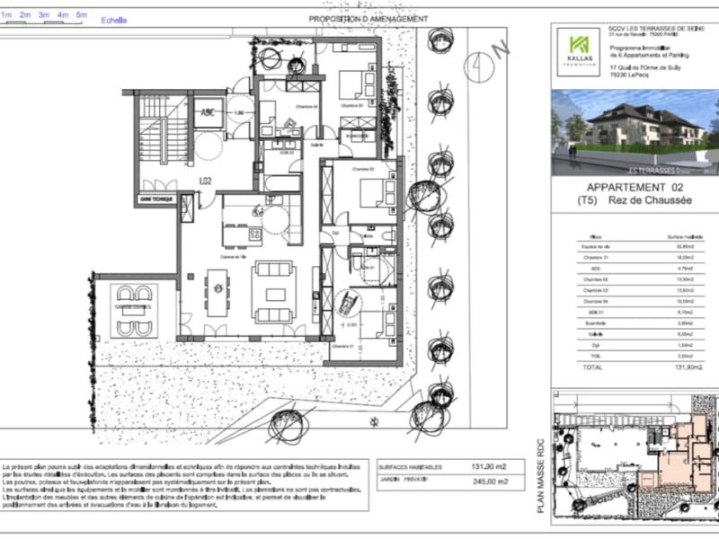 Sale apartment Le pecq 945000€ - Picture 4