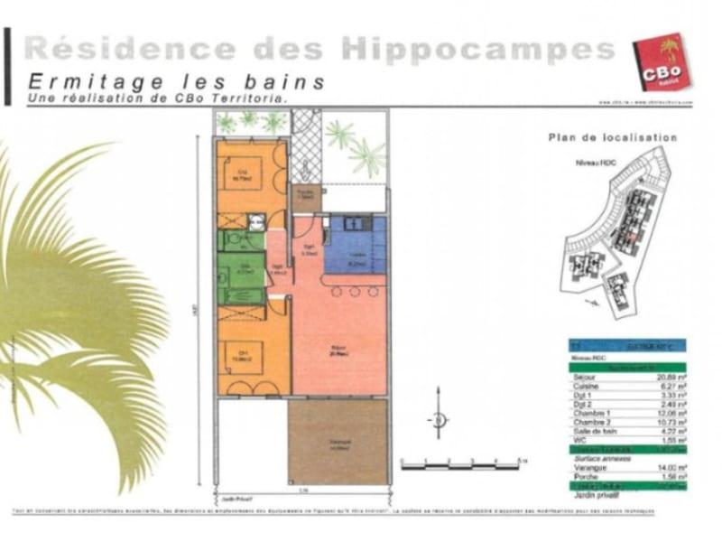 Location appartement St gilles les bains 830€ CC - Photo 1