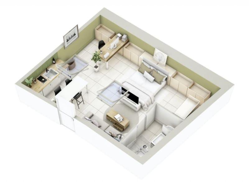 Vente appartement Lyon 3ème 276000€ - Photo 15