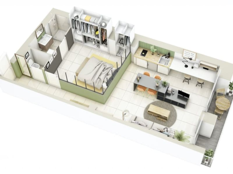 Vente appartement Lyon 3ème 169000€ - Photo 9