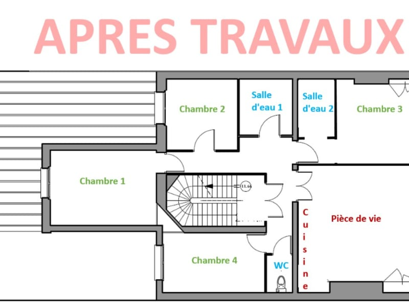 Vente appartement Angers 390350€ - Photo 3