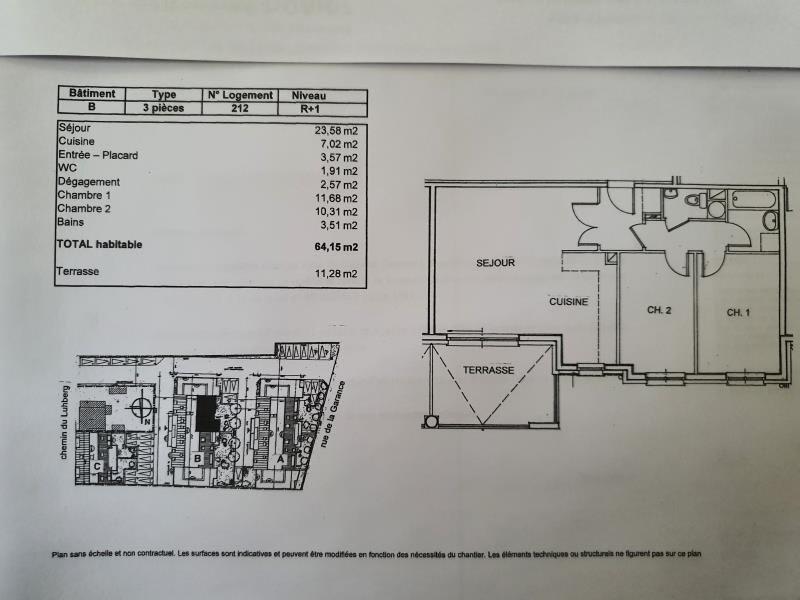 Location appartement Bischwiller 672€ CC - Photo 8